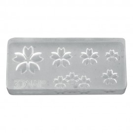 3D Gel Mold Cherry Blossom