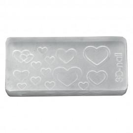 3D Gel Mold Heart