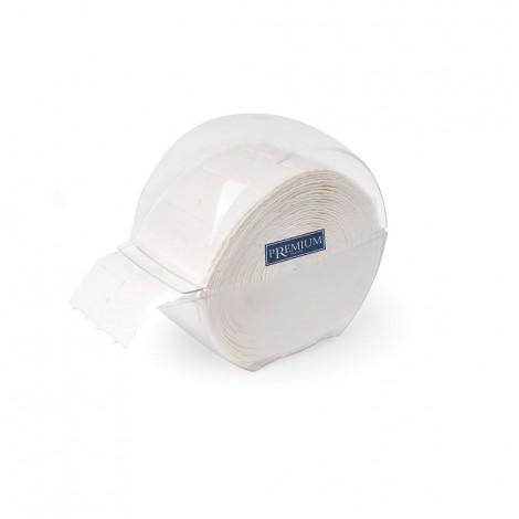 Dispenser de cotons carrés + 2 rouleauw de 500 pc