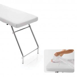 Housse de table usage unique avec élastique 80 x 190 cm