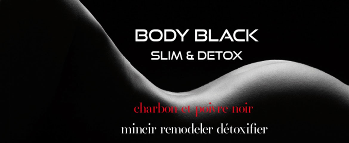 Soin corps minceur Body Black